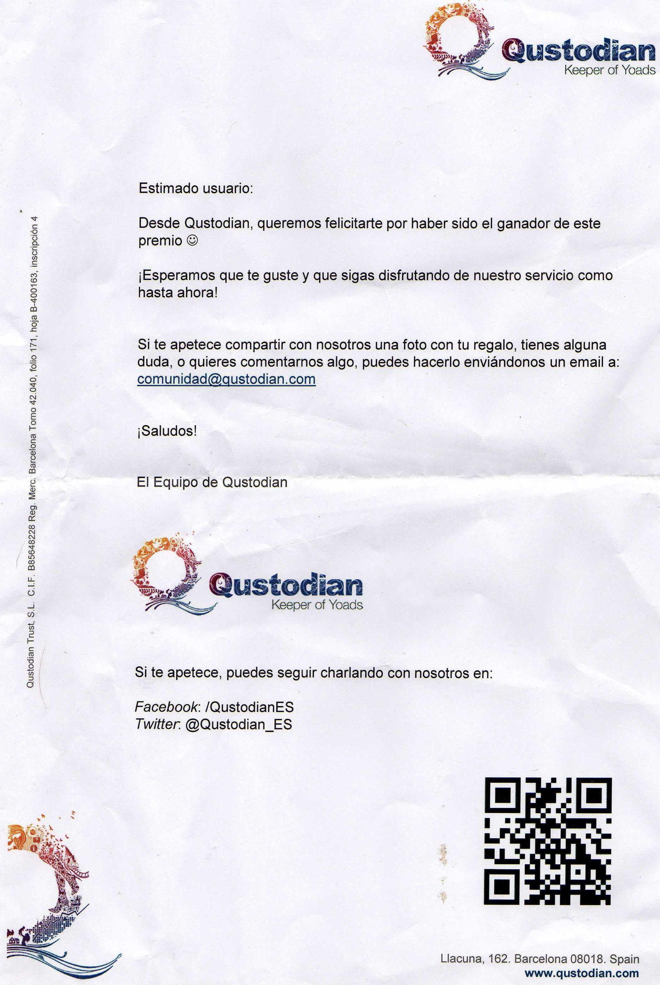 carta qustodian